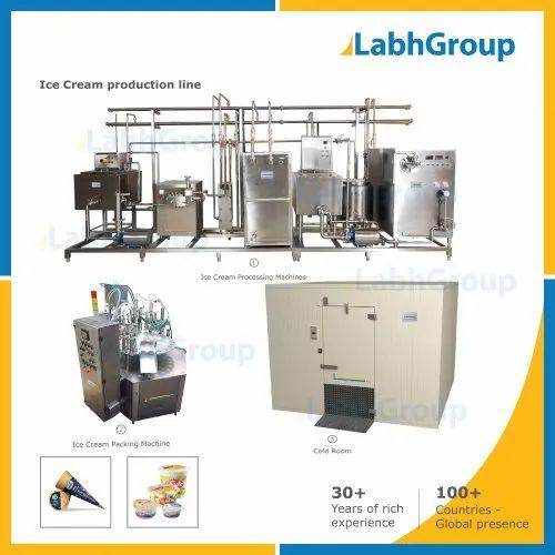Ice Cream Making Machine Production Plant