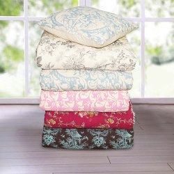 Cotton Quilted Bed Spread -  Bedding Set
