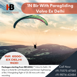 Camping and Paragliding