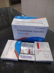 Itraconazole 200 mg (ITTRI G 200)