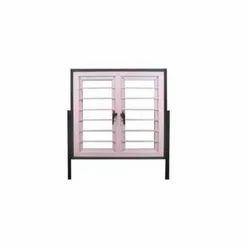 Modern Silver Hollow Metal Press Steel Windows, For Home