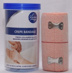 SLANEY Cotton Crepe Bandage 10 x 4 for Hospital