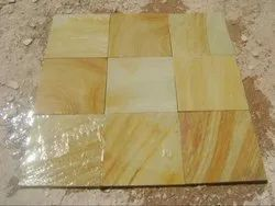 Sandstone Natural/ calibrated Natural Stone Tiles, For Flooring, Thickness: 30 Mm