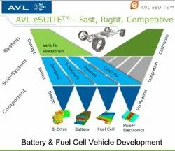 AVL - EV Software - eSuite Software - Battery and Fuel Cell Vehicle Development Software