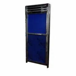 Color Coated Steel Door, For Home, Single
