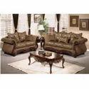 Fiber Wood Sofa Set