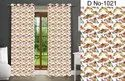 Goldy Satin Digital Print Curtains