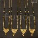 Antique South Indian Style Traditional Matte Polish Mangalsutra