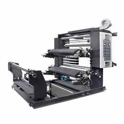 Roll To Roll Two Color Flexographic Printing Machine