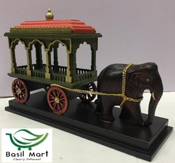 Elephant Chariot Dolls - Big Decorative Item