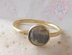 Gemstone Labradorite Ring