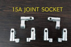 Brass 15A Joint Sockets - With Silver Plating