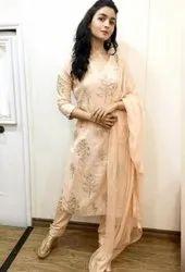 Rayon Formal Wear Indian Ethnic Designer Kurti With Pent, Wash Care: Handwash