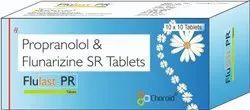Propranolol With Flunarizine Tablets (Flulast PR)