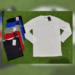Cotton Plain Men Casual Wear T Shirt