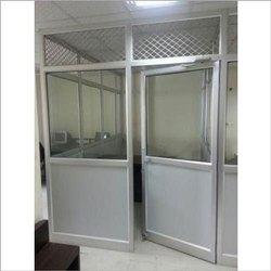 Aluminium Doors, Single, Thickness: 1 Mm