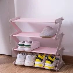 Tarkan Pink Shoe Stand, Size: 46 X 19 X 48 Cm