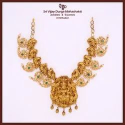 Traditional Festive Wear GOLD NECKLACE