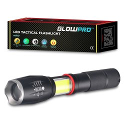 CE GlowPro Magnetic LED Flashlight M500, For Worklight, Battery Type: Rechargeable And Alkaline