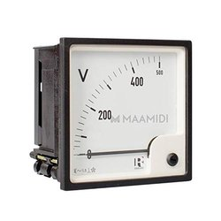 72mm Voltage Meter Analogue