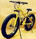 YELLOW LAND ROVER FAT FOLDABLE CYCLE