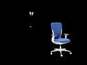 Adjustable Armrest Office Chair - Motion High Back