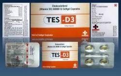 Cholecalciferol  60000 I.u. (vitamin D3) Tes D3