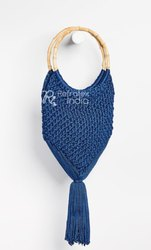 Rayon Macrame bag