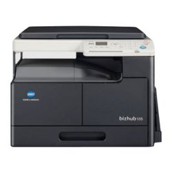 Konica Minolta Bizhub 185e A3 Black And White Multifunction Printer, 18 Ppm