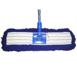 Blue Iron Heavy Duty Dry Mop, For Floor Cleaning, Size: 24 Inch