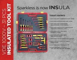 Solar Installation Toolkit - Insulated Tools Set Solar O&M