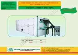 Absorbent Surgical Cotton Dryer For Bleaching Plant