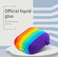 Air Pod 2 Silicon Rainbow Covers