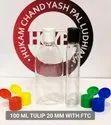 100 Ml PET Flat Bottle