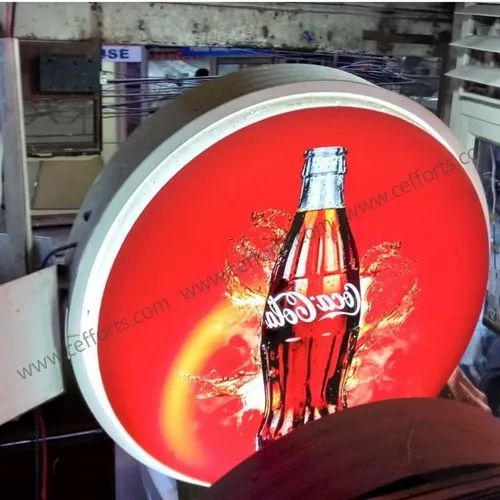 LED Lollipop Display Flange