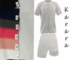 Plain Karara Fabrics, For Garment, GSM: 190-210