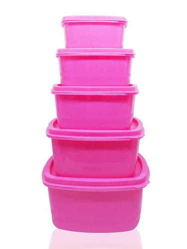 Kitchen Food Storage Box Multi Use Food Saver Containers 5 Pcs At Rs 90 Set Ahmedabad Id 22794739962