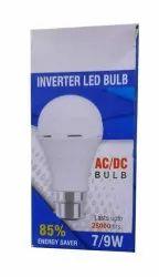 Ceramic 7 W AC/DC LED Bulb
