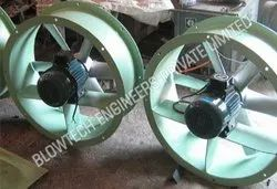 Mild Steel Axial Flow Fans