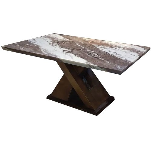 Dc Interiors Rectangular Marble Top Dining Table Size 5x2 5 Feet Rs 19500 Piece Id 22647818291