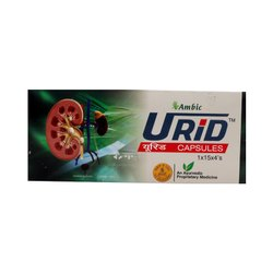 Ambic Urid 60 Capsules, Non prescription, Packaging Type: Box