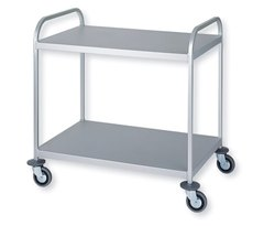 SS Two Shelves Trolley