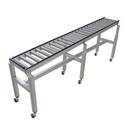 ATS 25 Feet Loading Roller Conveyor Systems, Capacity: 75 Kg Per Feet