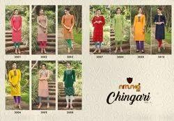 Nitisha Nx Chingari Vol 3 Kurtis