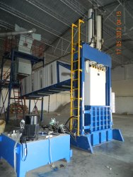 Ginned Cotton Baling Machine - Fully Automatic