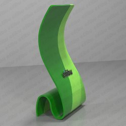 Tension Fabric Snake Banner Stand