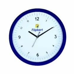 White & Blue Analog GPG-924 Round Promotional Wall Clock, For Office, Size: 8