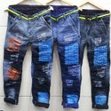 Heavy Knitted Funky Jeans