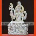 Hindu Marble Shiva Statue