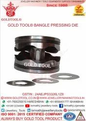 Gold Tool Bangle Pressing Die